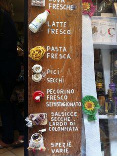Some food ? Montepulciano, Tuscany. (credits to #LocandaSanFrancesco + www.locandasanfrancesco.it)