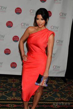 want this dress! Peach Dresses, One Shoulder, Shoulder Dress, Orange Dress, My Style, Fashion, Moda, Fashion Styles, Fashion Illustrations