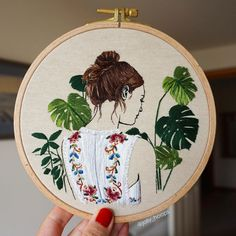 Hand Embroidery Patterns Flowers, Hand Embroidery Videos, Creative Embroidery, Simple Embroidery, Hand Embroidery Designs, Embroidery Kits, Embroidery Stitches, Couture, Decoration