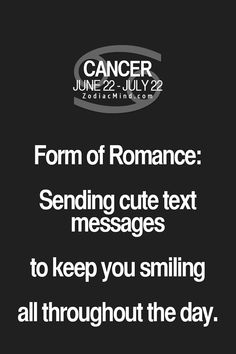 This is so me. I just imagine the smile in my head. #TeamCancer