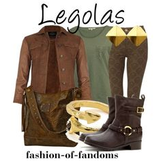 """Legolas"" by fofandoms on Polyvore"