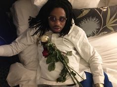 rose on bed dead Boy Celebrities, Hollywood Celebrities, Celebs, Quality Control Music, No One Likes Me, Bae, Relationship Memes, Relationships, Thug Life