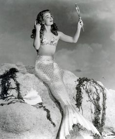 Ann Blyth 1948 Film Mr. Peabody & The Mermaid The most beautiful of all Mermaids