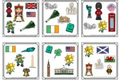 https://www.teacherspayteachers.com/Product/Find-the-one-The-USA-and-the-UK-symbols-flashcards-3133609