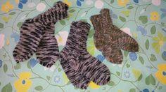 Woollen socks, this season.