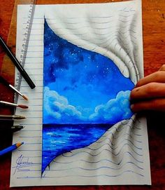 Afbeelding via We Heart It #art #drawing