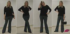 Calça Flare, para todo tipo de corpo e idade | Godllywood Brasil