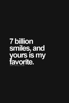 My faveourite smile