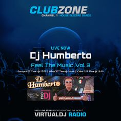 "Check out ""Dj Humberto - Feel The Music Vol 3 (2016-08-22 @ 03PM GMT)"" by djhumbertomx on Mixcloud"