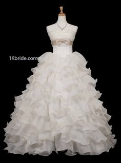 Elegant A-Line/Princess Strapless Floor-Length Satin Tulle Wedding Dresses With Lace Beadwork