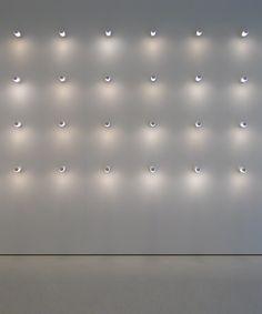 Wall of lights, Ozen Vetro by Davide Groppi _
