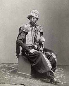 Kurdish Man from the Caucasus, 1870s.