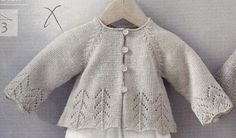 International Knitting Patterns, baby sweater