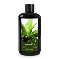 Telový masážny olej s aloe vera a arganovým olejom Aloe Vera, Shampoo, Personal Care, Bottle, Beauty, Self Care, Personal Hygiene, Flask, Beauty Illustration