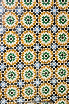 Islamic Mosaics this too would be great as a quilt