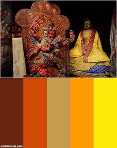 Vajrapani, Leh Color Scheme