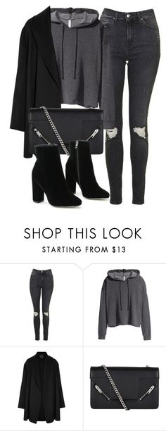 """Untitled #6700"" by laurenmboot ❤ liked on Polyvore featuring Topshop, H&M, Agnona and Yves Saint Laurent"