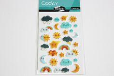 Sticker  Cooky Wetter von Perlenblitz auf DaWanda.com