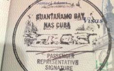 Cuba's borders are a little more relaxed nowadays, however getting this stamp will be tourists' biggest challenge yet. Guantanamo Bay's passport stamp is only available to people on the site - which is only accessible to those with military business