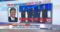 Full Video: Donald Trump Live Interview on GMA on Democratic Debate, Hillary Clinton, Ben Carson's Poll Numbers