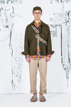 Engineered Garments Spring 2017 Menswear Collection Photos - Vogue