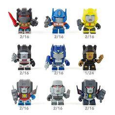 Transformers Mini Action Figures Don't Transform