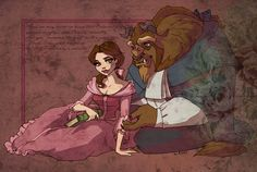 I almost forgot by ~TaijaVigilia on deviantART (Belle ~ Beauty and the Beast)