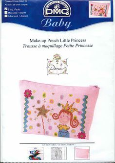 Adorable Little Princess Pattern -100% _ponto_cruz