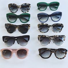 The lineup of Sonix sunnies!