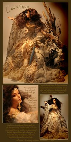 Learn to make these type of dolls at Patricia Rose' Guild