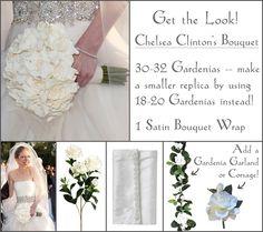 Pictures of celebrity Bridal Bouquets | Celebrity Weddings – Chelsea Clinton's Bouquet