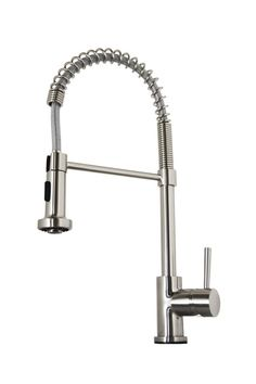 View the Virtu USA PSK-1004 Triton Pre-Rinse/Pullout Spray High-Arc Kitchen Faucet with NeoPerl Technology at Build.com.
