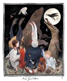 çizgili masallar: Mary Poppins by Júlia Sardà London Illustration, Children's Book Illustration, Digital Illustration, Book Illustrations, Julia Sarda, Pretty Art, Art Inspo, Fairy Tales, Character Design