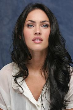 Megan Fox. Another incredibly beautiful person. I wish she would change her look up sometimes, but she looks beautiful no matter what her hair looks like.