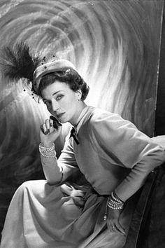 Mona Von Bissmarck - Best Dressed Woman in the World for the year 1933