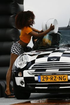 MINI car wash.