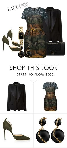 """""""Satin Finish"""" by emeraldz on Polyvore featuring Alexandre Vauthier, Chanel, Amen. and Alexander White"""