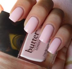 Currently on my nails: Butter London - Teddy Girl