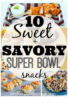 super bowl recipes, appetizers, easy appetizers, quick super bowl snacks, super bowl food #appetizers #superbowlfood  http://www.amittenfullofsavings.com/superbowlfood/