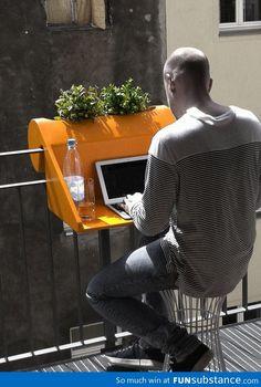 Balcony space design solution