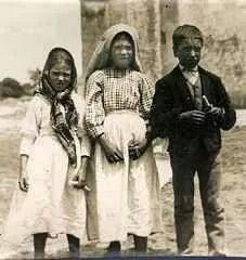 The three shepherd children of Fatima