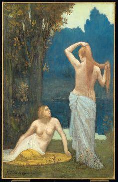Pierre Puvis de Chavannes, The Bathers   AGO Art Gallery of Ontario