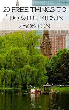 Take the kids to Boston. There's so much to do that's both fun and free.