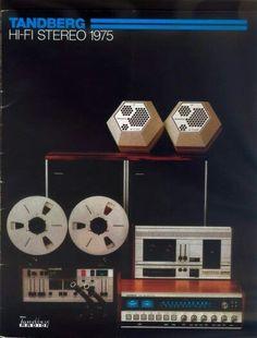 Vintage audio Tandberg Ad (1975) Hi Fi  Stereo
