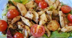 Fokhagymás-rozmaringos csirkemell saláta Recept képpel - Mindmegette.hu - Receptek Potato Salad, Potatoes, Meat, Chicken, Ethnic Recipes, Food, Potato, Essen, Meals