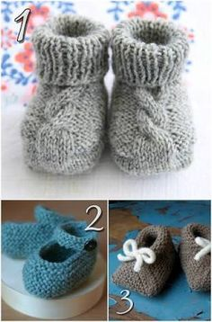 10 Free Knitting Patterns For Ba Shoes Blissfully Domestic Easy Knit Baby Booties Pattern Free Baby Booties Knitting Pattern, Knit Baby Booties, Baby Knitting Patterns, Knitting Socks, Baby Patterns, Free Knitting, Knit Baby Shoes, Knitted Baby Socks, Slippers Crochet