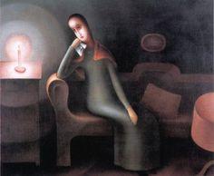 Jan Zrzavý, Melancholy, 1920