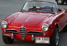 a 1958 Alfa Romeo Giulietta Spider Veloce | Flickr - Photo Sharing!