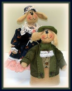 The Dollie Storage Room: The Dolls Product Lines Series - Best Dog In Class Granny Esther and I'm The Best Papa Pepper
