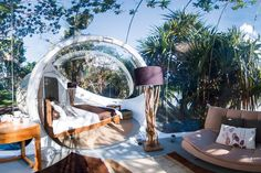 Every wondered what its like to sleep in a bubble with a butler? These newly introduced Bubble Lodges are the only accommodation on the Ile Aux Cerfs Golf Island in Mauritius! Weekend Trips, Day Trips, Long Weekend, Places Around The World, Around The Worlds, Best Places In Italy, Bubble Tent, Mauritius Island, Italy Pictures